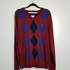 Tommy Hilfiger XL V-neck Sweater